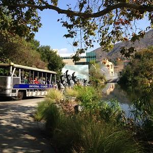 The Universal Studios Tram Tour, Hollywood