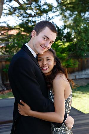 Adam and Jenna on Prom Night