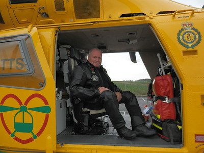Air Ambulance Visit - 12th August 2015
