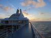 168-sunset off SS Navigator