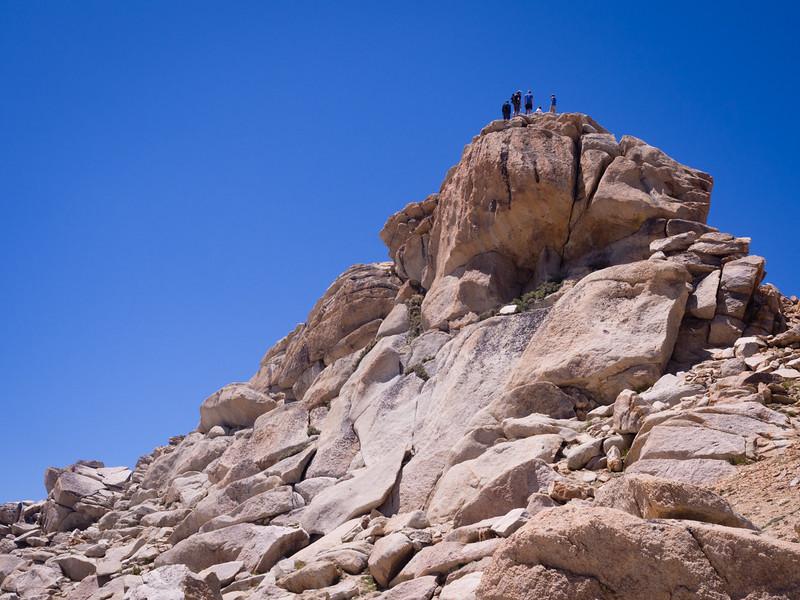Alta Peak summit
