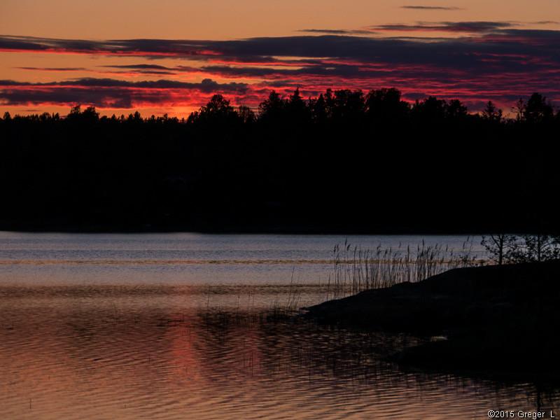 Efter solnedgången