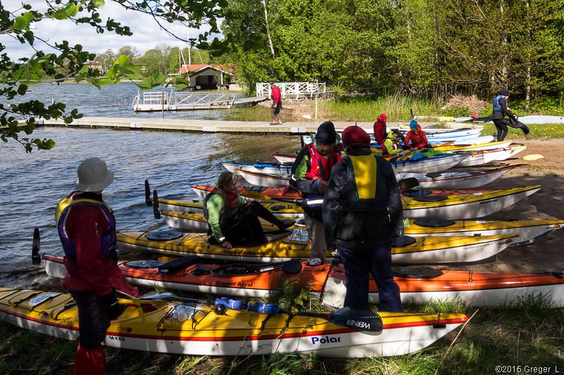 Start från Solö-badet