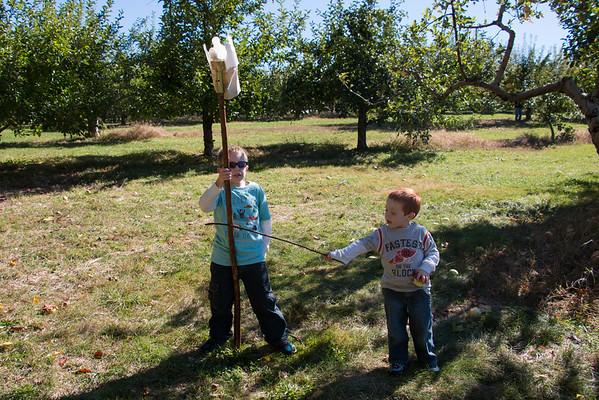 Apple Picking at Palazzi Orchard - 2015