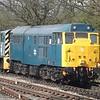 Class 31 no. 31438 at North Weald, 11/04/2015.