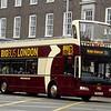 Big Bus Optare Olympus PN09EOH DA218 near London Euston on the Green Link service.