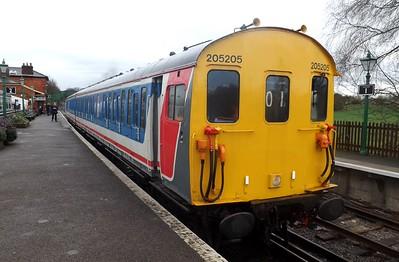 Epping Ongar Railway 11th April 2015