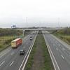 The M1 Motorway at Dublin Airport.