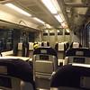 First class aboard London Midland class 350 Desiro no. 350123 at Northampton.