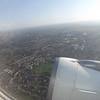 Flying from Birmingham to Dublin on Aer Lingus Airbus A320 EI-DEC.