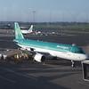 Aer Lingus Airbus A320 EI-DEC at Birmingham International Airport on a flight to Dublin.