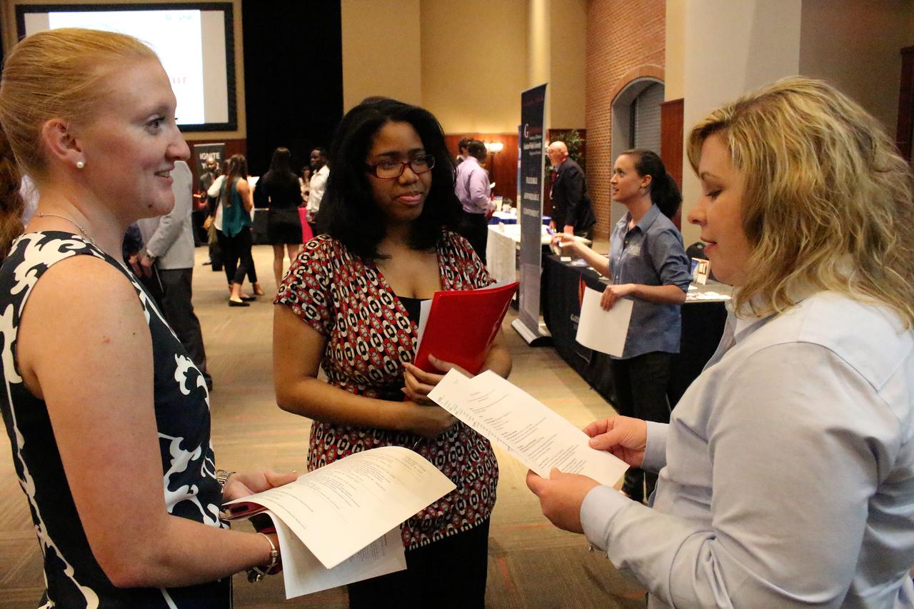 GWU Career and Internship Fair 2015