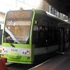 London Tramlink Bombardier Flexity CR4000 tram no. 2548 at Wimbledon on service 3.