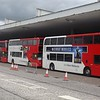 The bizarre sight of NX West Midlands buses in Milton Keynes, 25/04/2015.