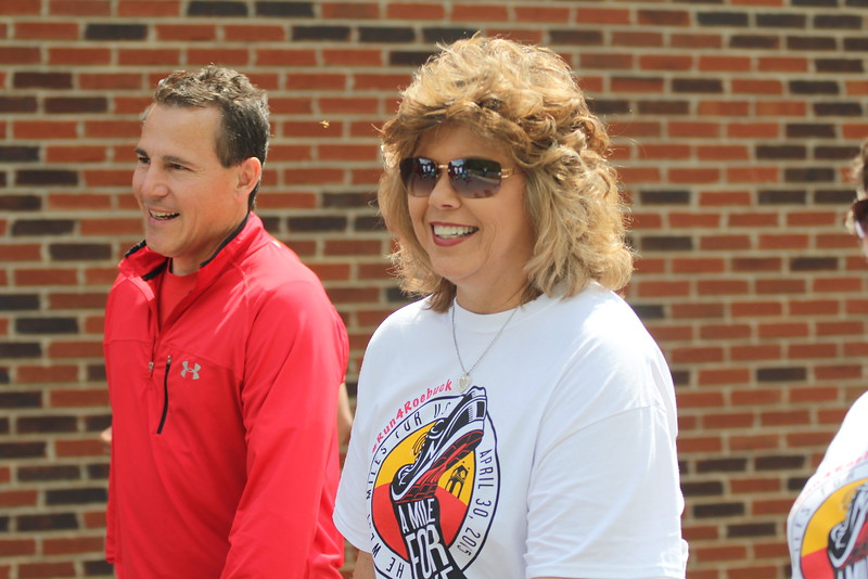 On Thursday afternoon (April 30th) friends, family, students, and faculty joined together for a beautiful tribute honoring and celebrating the active life of Mike Roebuck. It was a great afternoon full of remembering a good life, fellowship, and exercise.