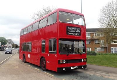 Watford Bus Rally 26th April 2015