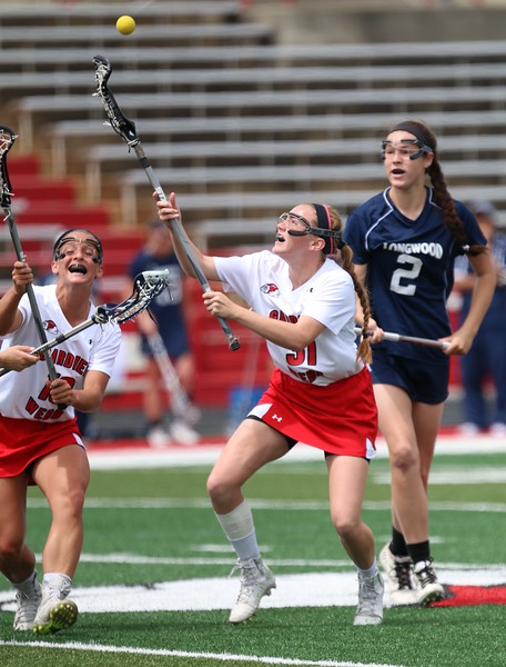 Womens Lacrosse hosted Longwood University Sunday Afternoon in Spangler Stadium
