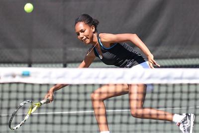 Womens Tennis competes against PC April1, 2015
