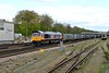 25 April 2015 :: 66757 is approaching Basingstoke with 4Y19, gypsum from Mountfield to Southampton
