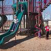 JOED VIERA/STAFF PHOTOGRAPHER- Lockport, NY- Kids play at Day Road Park. April 1, 2015
