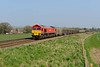 9 April 2015 :: 59204 is heading 7V07 from Chichester to Merehead at Bapton