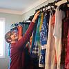 JOED VIERA/STAFF PHOTOGRAPHER-Olcott Beach, NY-Nicole Verbosy prepares Abby Joe's Unique Boutique for Saturday.