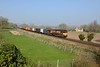 9 April 2015 :: 66083 at Little Langford working a diverted Didcot to Eastleigh service