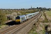 14 April 2015 :: 67013 heads to Marylebone with the 1555 from Birmingham Moor Street (1H69) at Kings Sutton