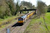 14 April 2015 :: Heading North at Kings Sutton is 66729 with 6M40 from Westbury to Stud Farm