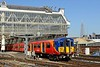 23 April 2015 :: 455708 is arriving at Waterloo with 2G48, the 1537 from Guildford