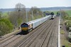 15 April 2015 :: 66006 is seen at Cholsey on 4M52 from Southampton to Castle Bromwich