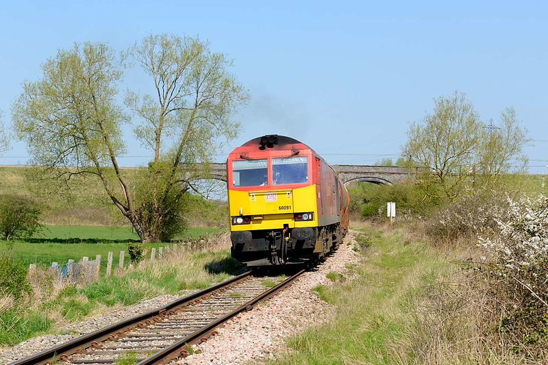 20 April 2015 :: Another view of 6B13 and 60091