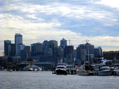 Seattle Seen From Our Argosy Cruise Around Lake Union and Lake Washington