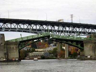 Bridge Seen on the Argosy Cruise Line Lakes Tour in Seattle