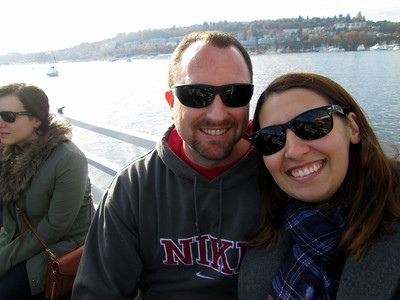 Dan and On on the Argosy Lakes Cruise in Washington State