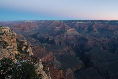 Sunrise - Grand Canyon Depths