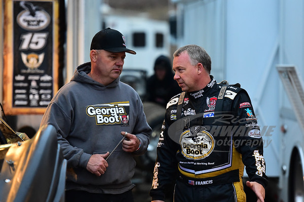 Steve Francis and crew chief - Anthony Burroughs