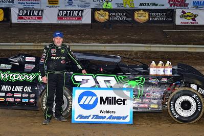 Jimmy Owens won the Miller Welders Fast Time Award