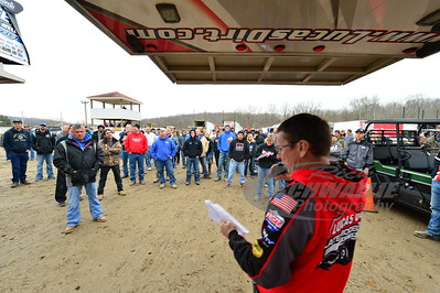 LOLMDS Official - Kenny Kenneda conducts the drivers meeting