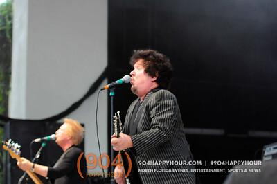 Rick Springfield, Loverboy & The Romantics Band Photos @ St. Augustine Ampitheater - 8.30.15
