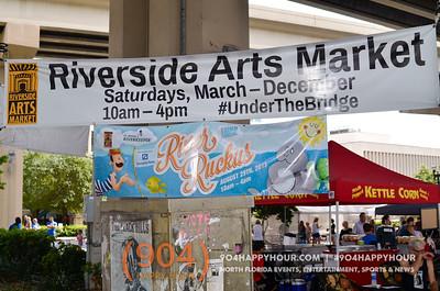 River Ruckus @ Riverside Arts Market - 8.29.15