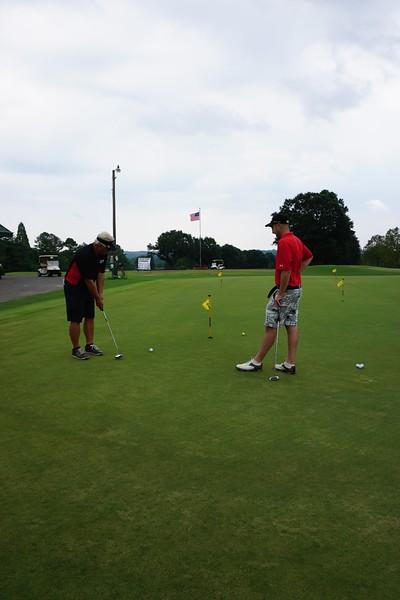 Alumni Golf Event