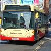 Brighton & Hove Scania Omnicity YN58BCU 55 in Brighton.