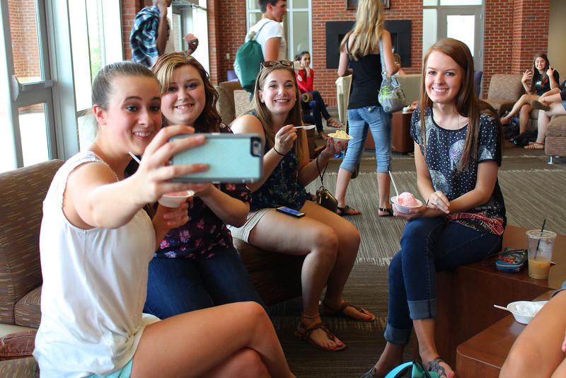 Ice Cream Selfie!