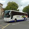 Whittles Coaches Volvo Plaxton Paragon YX07HKK 18 in Oxford.