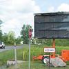 JOED VIERA/STAFF PHOTOGRAPHER-Lockport, NY-A sign on Beattie Avenue alerts motorists to roadwork.