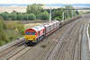 28 August 2015 :: Newly painted 66058 is seen at South Moreton on 6X38 from Eastleigh to Didcot