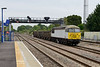 11 August 2015 :: 56103 is pictured at Princes Risborough with empty spoil train 6Z57 from Calvert to Willesden