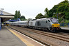 11 August 2015 :: 68011 is seen passing through Princes Risborough working 1R22, the 1015 Marylebone to Birmingham Moor Street