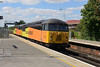 7 August 2015 :: 56087 with 56105 are at Basingstoke working light from Eastleigh to Tyne Yard (0C52)